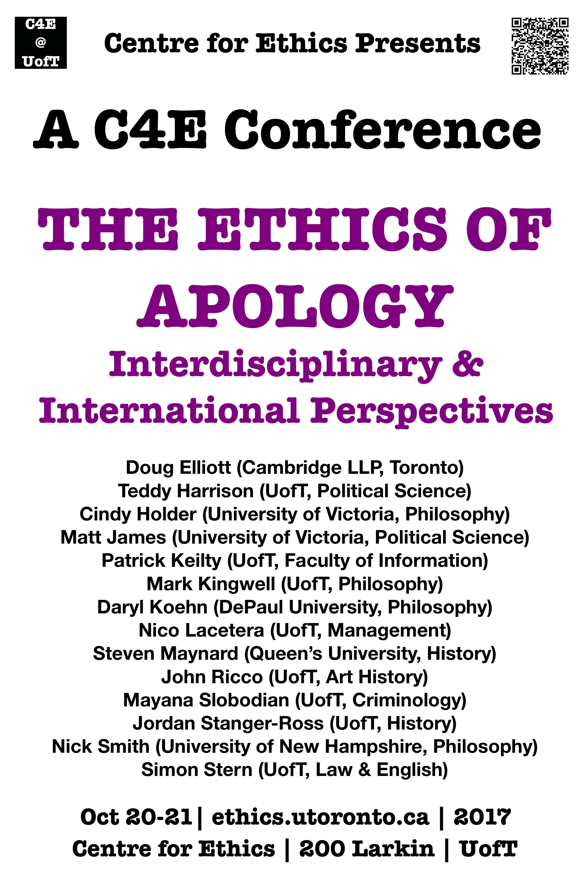 Centre for ethics university of toronto conferences xflitez Images