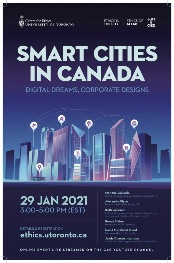 Smart Cities in Canada Event Poster