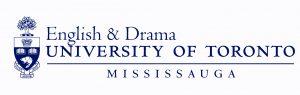 Logo: English & Drama at the University of Toronto Mississauga